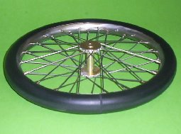 Scale Wire Spoked Wheels Wattflyer Rc Electric Flight
